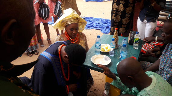 photographs from GT the Guitarman's customary wedding which took place in Ozubulu Villlage, Anambra State.