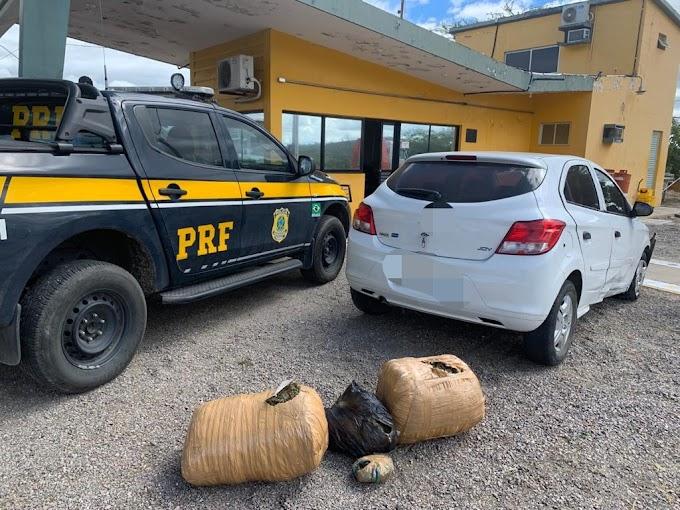 Homem é detido com 22,9 Kg de maconha após fuga em Sertânia