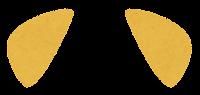 獣耳のイラスト(茶3)
