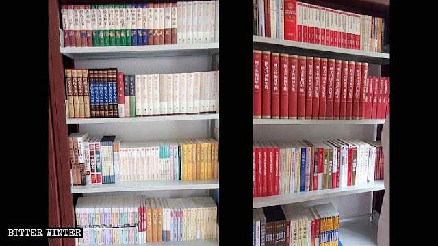 Livros sobre Xi Jinping numa 'igreja' protestante de Zhengzhou