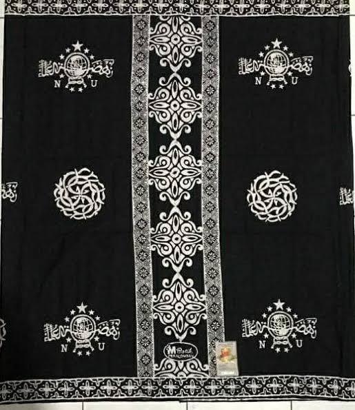 Sarung Batik Warna Hitam Putih