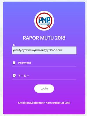 Cara Unduh Dan Print Out Rapor Mutu Sekolah Dari PMP (PMP Online) - Rapor Mutu PMP 2019