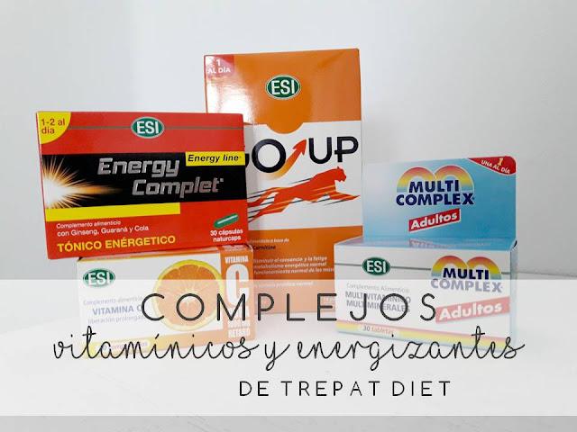 COMPLEJOS VITAMÍNICOS Y ENERGIZANTES DE TREPAT DIET