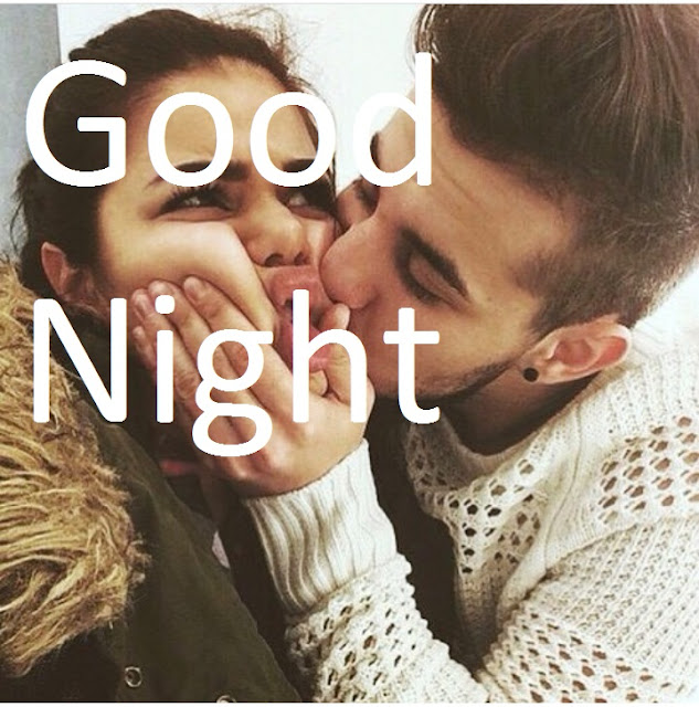 good night images for boyfriend with kiss