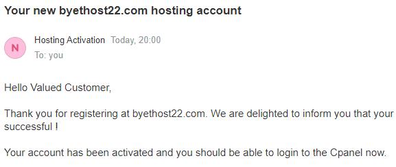 Cara Mendapatkan Web Hosting Gratis dari Byethost