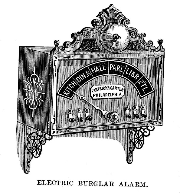 1876 electric security alarm