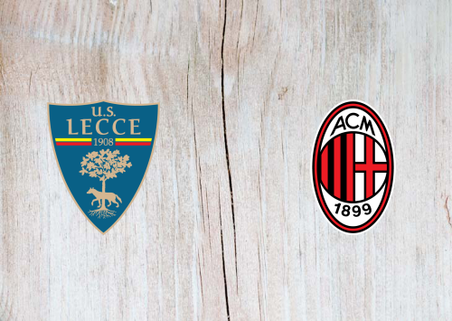 Lecce vs Milan -Highlights 22 June 2020