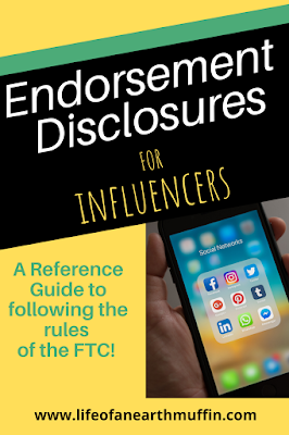 A parody of the For Dummies series with the words Endorsement Disclosures for Influencers and an image of the social media apps on an iPhone