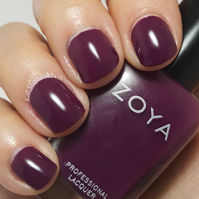 Zoya Urban Grunge Once Coat Creams - Tara | Kat Stays Polished