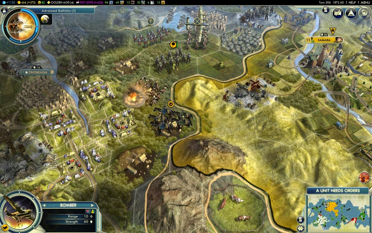 Sid Meier`s Civilization V Game Available On Steam For Linux ~ Web
