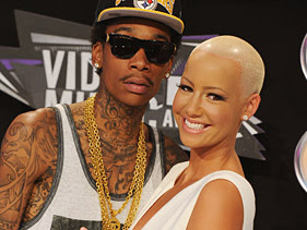 Wiz Khalifa And Amber Rose Are Officially Engaged. 1