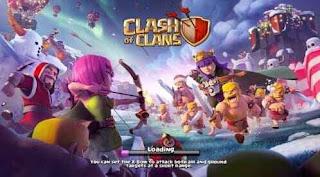 Script Phising Terbaru Game Clash of Clans dengan Tampilan Menarik dan Keren