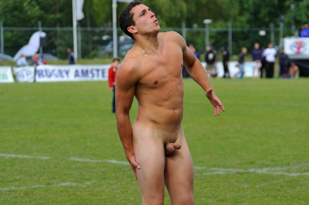 Sports athletes playing nude female