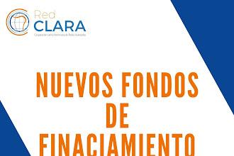 Nuevos Fondos de Financiamiento / Red Clara, Fondos y Socios