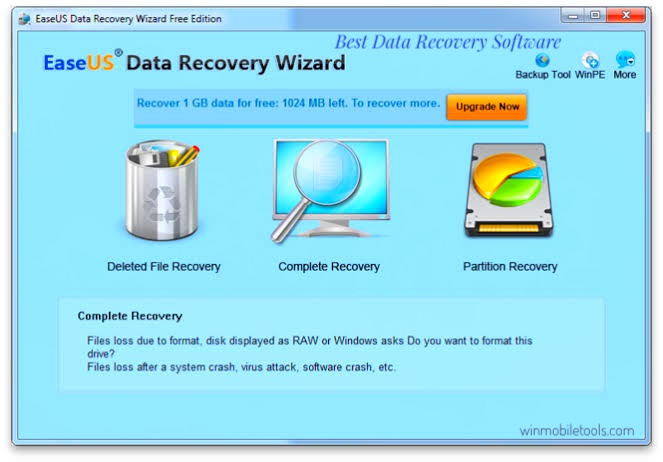 EaseUs Data Recovery Wizard | Best Data Recovery Software Free Download