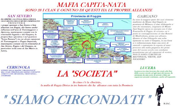 """""""Operazione Rodolfo"""".  La Mobile di Foggia e il GICO di Bari eseguono ordine di carcerazione a boss e affiliati di spicco della mafia foggiana"""
