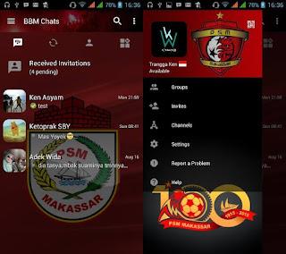 BBM Mod PSM Makassar