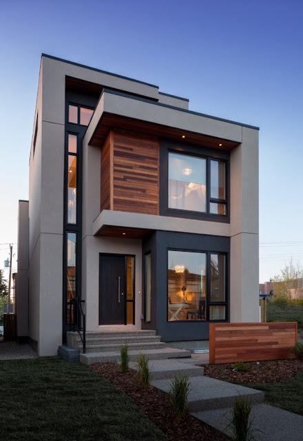 rumah desain industrial