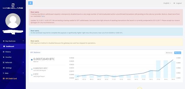 HashFlare Bitcoin Mining