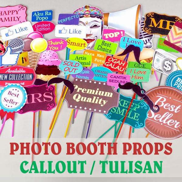 aksesoris photobooth props