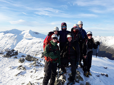 Winter skills Glencoe