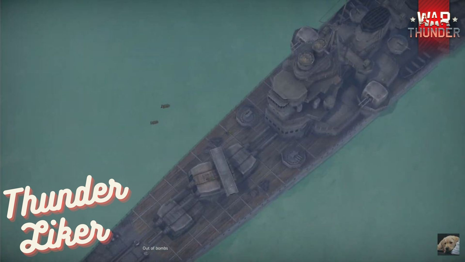 War Thunder Exciting Moment PBY Destroying Battleship and Heavy Cruiser