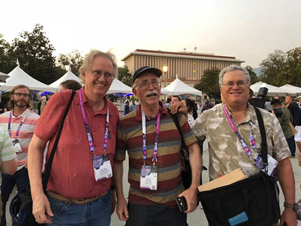 Some OCA science squad and physicist wannabes at COSPAR 2018 reception (Source: Palmia Observatory)