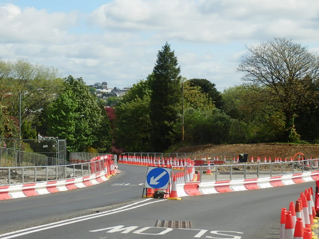 Road Works and Cones, Cornwall