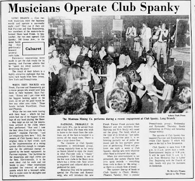 Club Spanky news article