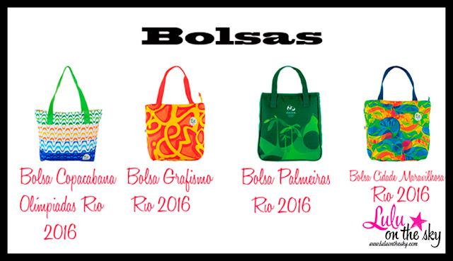 Fique na moda com os produtos das Olímpiadas  Rio 2016 - fotos: divulgação- montagem;blogluluonthesky