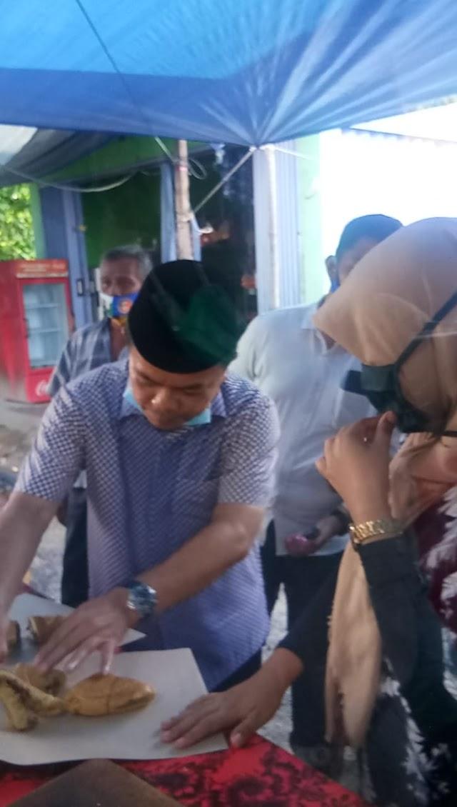 Singgah di Pasar Baru, Al Haris Sasar Tukang Martabak