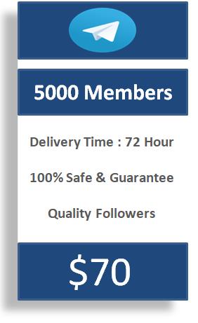 buy 5000 telegram members