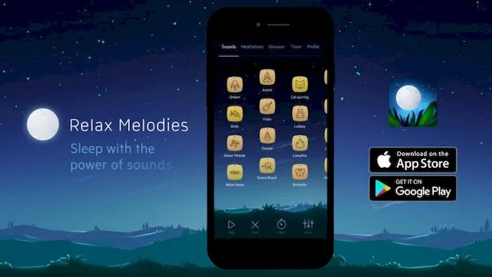 Apps To Help You Sleep Better Relax Melodies