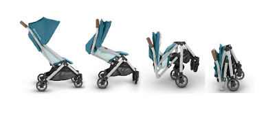 the UPPAbaby Minu Reliable Brand travel stroller, 4 different configurations, Kidsland