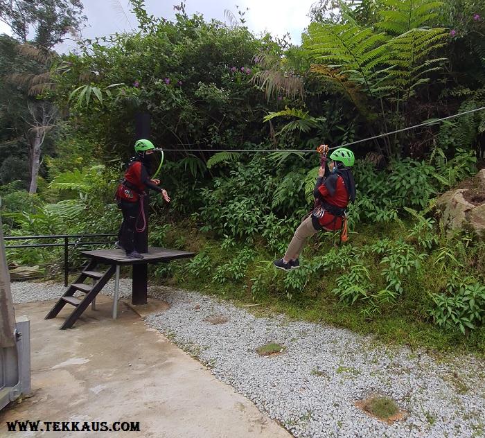 Zipline Penang Hill Demonstration Safety