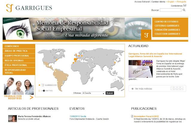 paginas web de abogados
