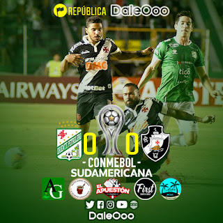 Oriente Petrolero 0 - Vasco da Gama 0 - DaleOoo - Copa Sudamericana
