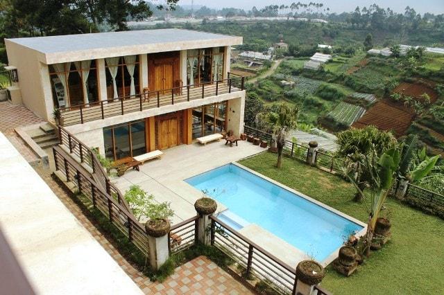 Deretan Villa Keren Di Lembang Bandung