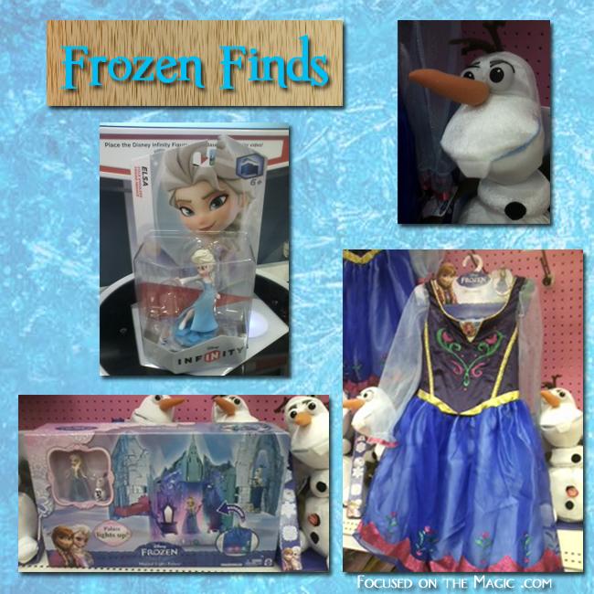 Target Frozen merchandise