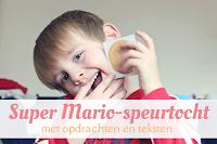 Super Mario-speurtocht - met opdrachten en teksten