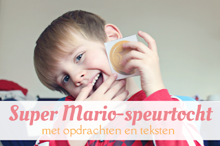 kinderactiviteiten binnen - Super Mario Speurtocht