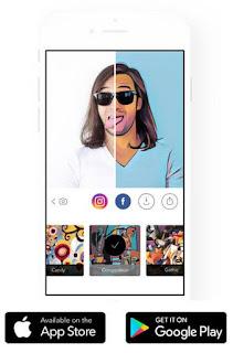 Download Apk Prisma Edit Foto  Buat Foto Kamu Jadi Kartun dan Sketsa Keren di Android,download aplikasi edit foto prisma, cara menggunakan aplikasi prisma, download apk prisma.