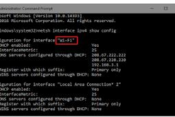 Cara Mudah Mengubah Alamat IP Komputer/Laptop dengan Command Prompt