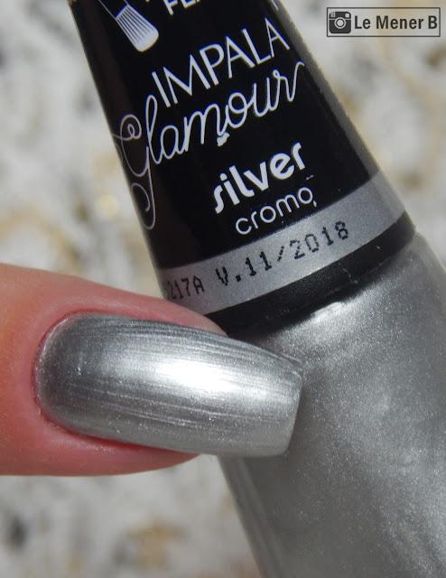 coleção glamour esmalte silver