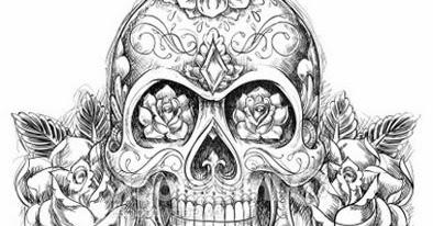 Desenhos De Caveiras Mexicanas