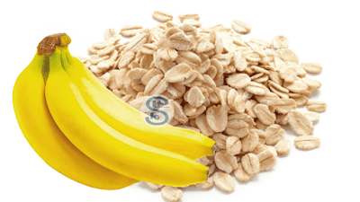 Home Made Oatmeal Face Pack with Banana