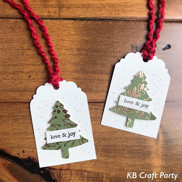 パインツリーパンチ ディライトフルタグトッパーパンチ クリスマスタグ スタンピンアップ 公認デモンストレーター KB Craft Party 須見葉子