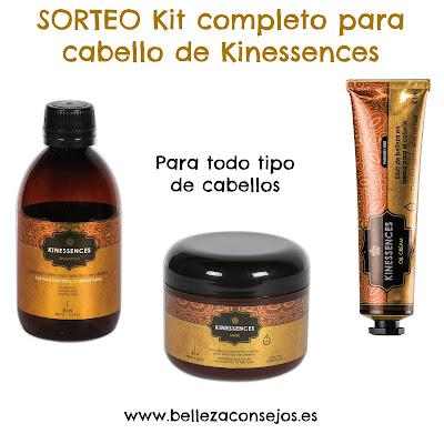 Sorteo kit completo para cabello de Kinessences Mumona