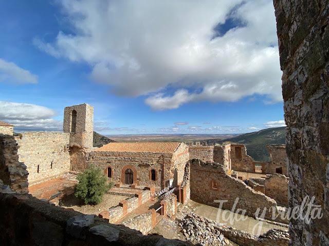 Castillo Calatrava la Nueva restos convento