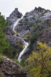 Cascada de la Escareruela. Parque Nacional Sierra de Cazorla, Segura y Las Villas